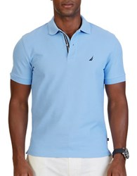 Nautica Slm Fit Performance Deck Polo Shirt French Blue