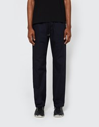 Our Legacy Relaxed Trousers Navy Fine Gaberdine