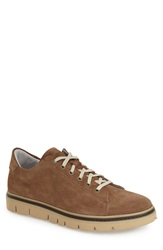 Kenneth Cole Reaction 'Flash Back' Sneaker Men Taupe Leather