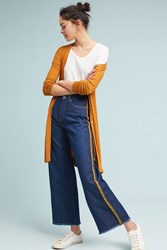 Ottod'ame Athletic High Rise Cropped Wide Blue