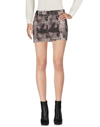 Richmond Denim Mini Skirts Grey