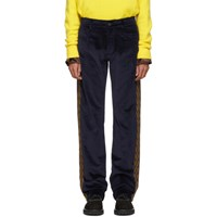 Missoni Navy Velvet Five Pocket Trousers