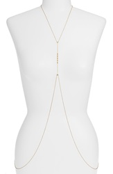 Gorjana 'Bali' Body Chain Gold