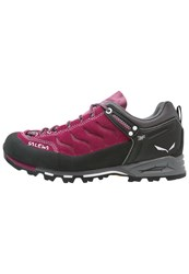 Salewa Mtn Trainer Walking Shoes Red Onion Quiet Shade