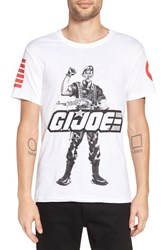 Eleven Paris Men's Elevenparis 'G.I. Duke' Graphic T Shirt White