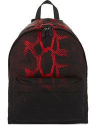 Givenchy Python Print Backpack Blk Red