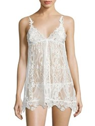 Jonquil Two Piece Chemise And Panty Set Ivory