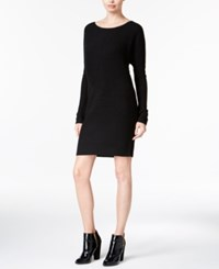 Bar Iii Dolman Sleeve Sweater Dress Only At Macy's Deep Black