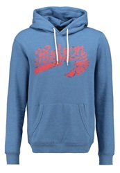 Pier One Sweatshirt Blue Melange Mottled Blue