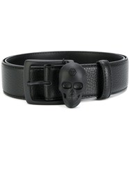 Philipp Plein Giosafat Belt Leather Black