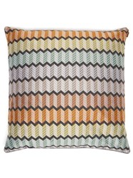 Missoni Home Waterford Large Zigzag Jacquard Cushion Multi