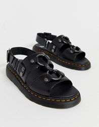 Dr. Martens Dr Xabier Sandals In Black