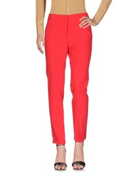 Les Filles Casual Pants Red