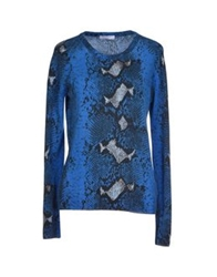 Equipment Femme Sweaters Blue