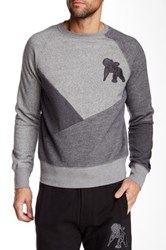 Prps Canes Colorblock Sweater Gray