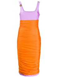 Fausto Puglisi Colour Block Ruched Dress 60