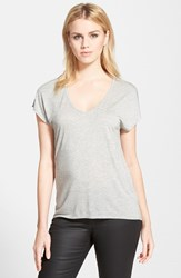 Trouve Women's Trouve 'Easy' V Neck Tee