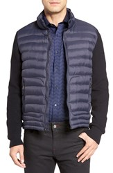 Bugatchi Men's Long Sleeve Vest Jacket