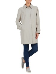 Four Seasons Unlined Contemporary Raincoat Silver Kiwi