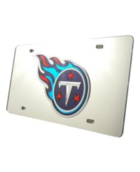 Rico Industries Tennessee Titans License Plate Silver