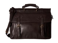 Scully Bradley Overnight Workbag Dark Brown Bags