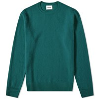 Harmony Winston Boiled Wool Knit Green