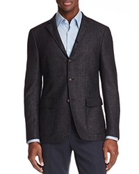 John Varvatos Star Usa Luxe Basket Weave Slim Fit Sport Coat Black White