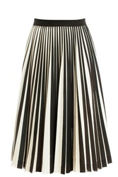 Proenza Schouler Front Pleated Skirt Multi