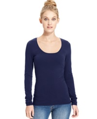 Energie Juniors' Scoop Neck Top Medieval Blue