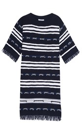 Barrie Gipsy Sailor Dress Navy