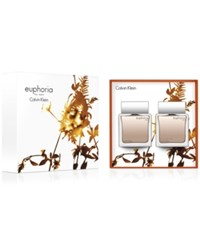 Calvin Klein 2 Pc. Euphoria For Men Gift Set