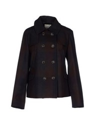 Henry Cotton's Jackets Dark Blue