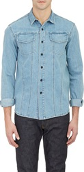 Simon Miller Denim Shirt Jacket Blue Size 1 S