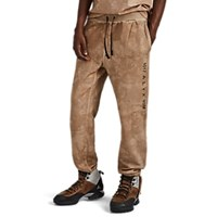 Alyx Tonal Camouflage Cotton Fleece Jogger Pants Sand