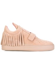 Filling Pieces Fringed Sneakers Pink Purple