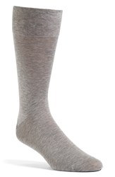 John W. Nordstromr Men's Big And Tall Nordstrom Socks Light Grey Marle