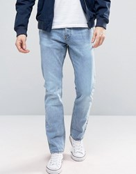 New Look Slim Jeans In Light Wash Pale Blue