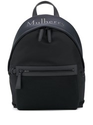 Mulberry Mesh Detail Backpack Black