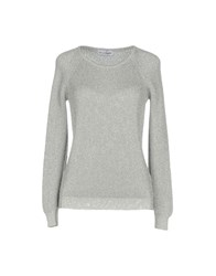 Lo Not Equal Sweaters Silver