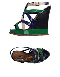 Studio Pollini Footwear Sandals Women Green
