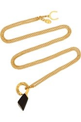 Giles And Brother Pied De Biche Gold Tone Necklace
