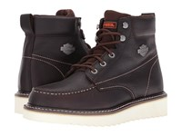 Harley Davidson Candler Dark Brown Men's Lace Up Boots