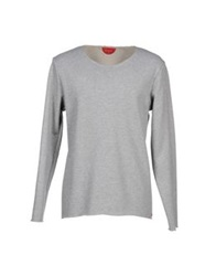 Red Collar Project Sweatshirts Grey