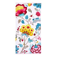 Pip Studio Floral Fantasy Towel Star White Bath Towel