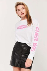 Urban Outfitters Clueless Cher Long Sleeve Tee White