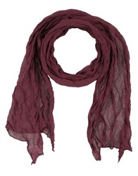 Lamberto Losani Oblong Scarves Deep Purple