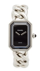 Wgaca What Goes Around Comes Around Chanel Watch Premeir Watch Previously Owned Silver