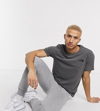 The North Face Simple Dome In Gray Exclusive At Asos