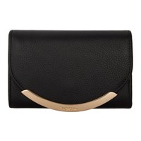 See By Chloe Black Lizzie Compact Wallet