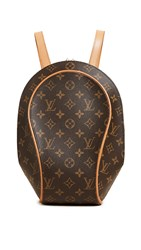 Wgaca What Goes Around Comes Around Lv Ellipse Backpack Previously Owned Brown